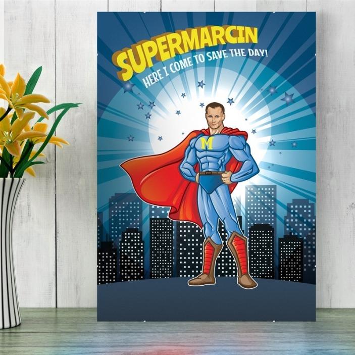 Be a Hero - plakat ze zdjęcia